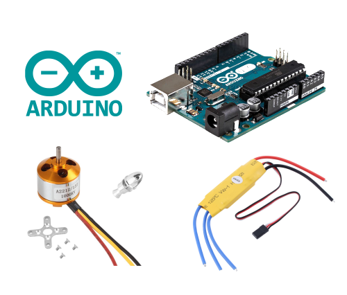 Arduino tutorial 3 – Motore Brushless