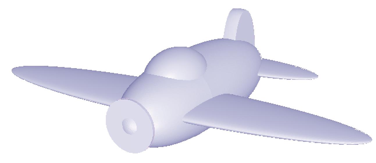 Modello airplane