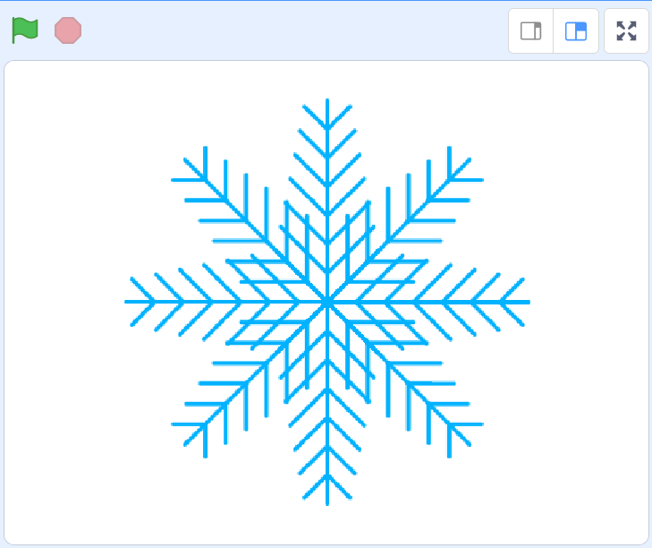 Scratch tutorial 24 – fiocchi di neve